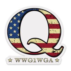 QAnon Stickers
